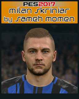 PES 2017 Faces Milan Skriniar by Sameh Momen