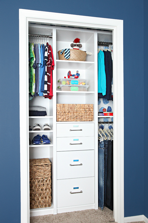 Closet System (c/o) | Acrylic Drawer Organizer (c/o) | Hangers | Hanger  Clips | Extending Hanger Pole | Hamper | Label Holders | Storage Baskets |  Sock ...