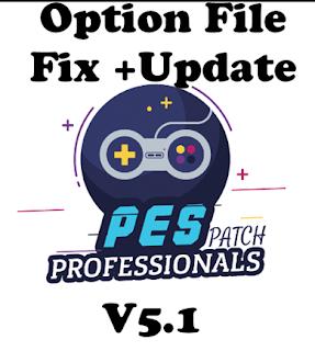 PES 2017 Option File Pes Professionals Patch v5.1 Update 14-11-2018