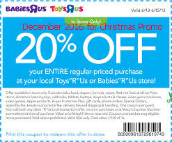 Babies R Us coupons december 2016
