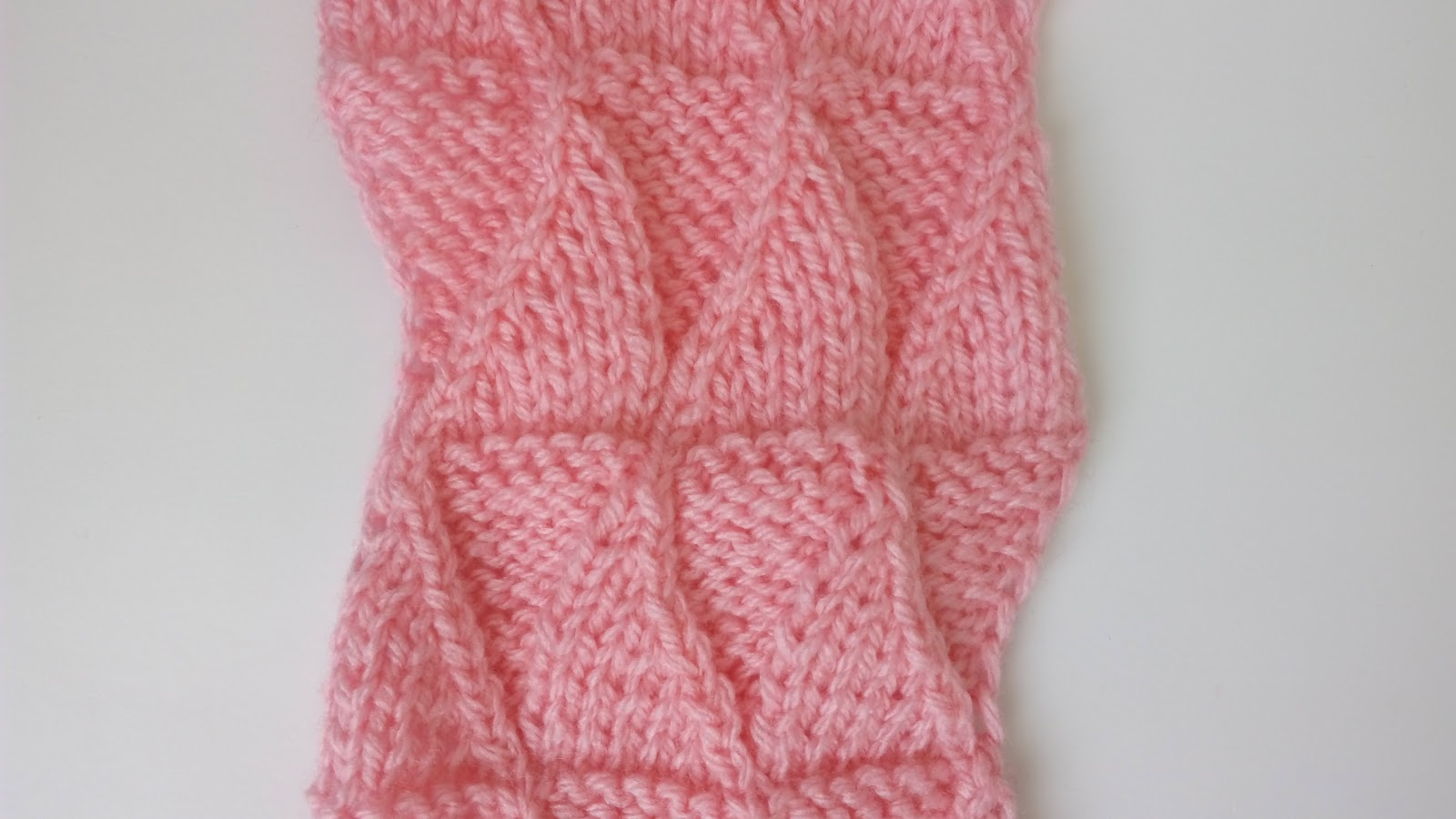 Fake Entrelac - Knitting Stitch