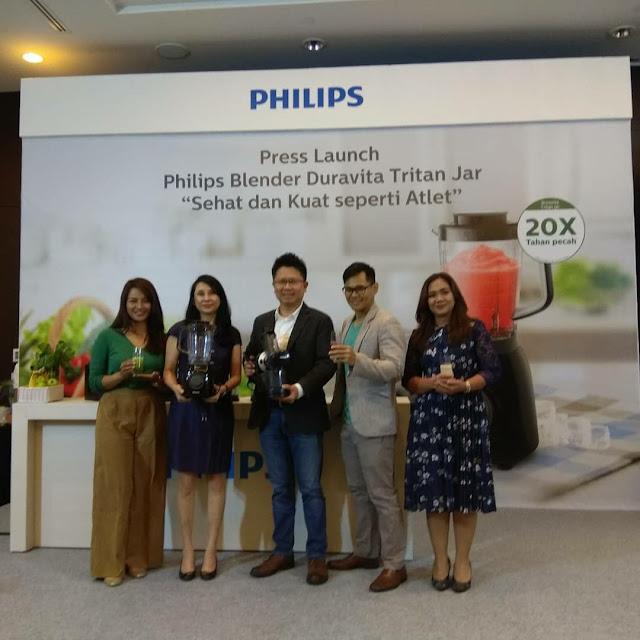 Terapkan Gaya Hidup Sehat Dengan Philips Blender Duravita Tritan Jar
