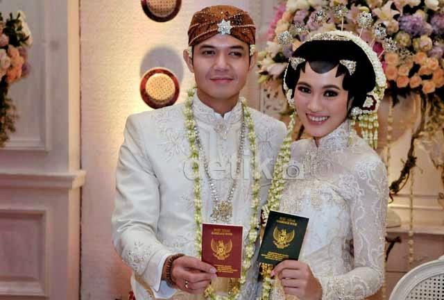 foto foto pernikahan dude herlino alyssa soebandono