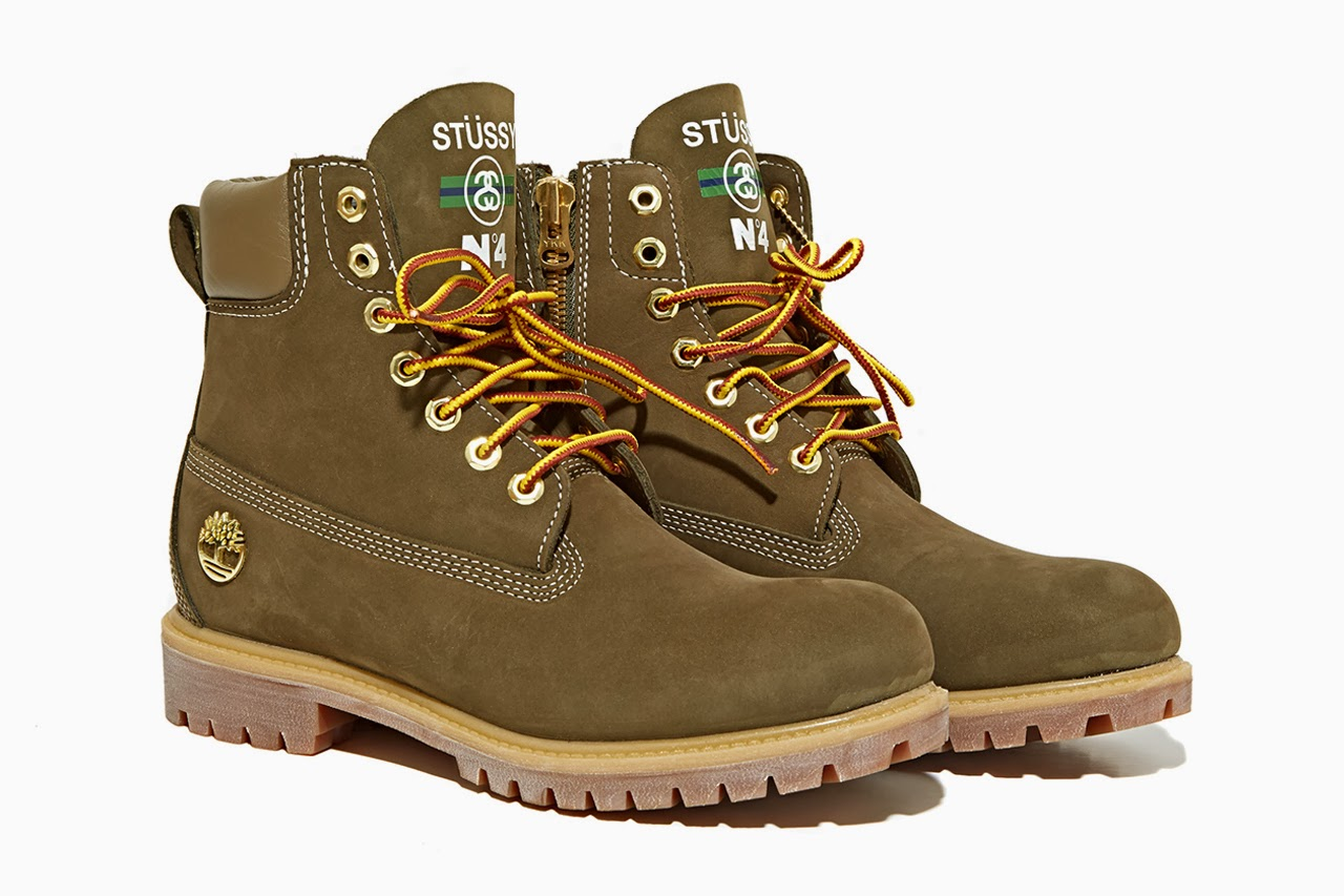 aedcc98d Stussy x Timberland dropped these 6