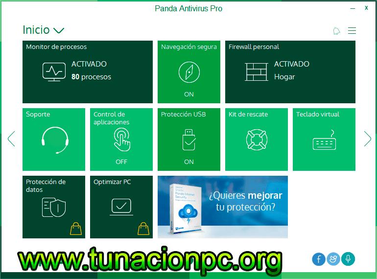 Panda Antivirus Pro con Licencias Originales