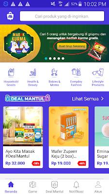 Masuk di Aplikasi Mucho Android