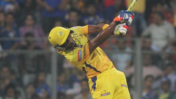 IPL-2018-1st-Half-Century-Dwayne-Bravo-Innings