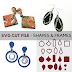 Designing with Shapes and Frames |  New SVG Cut Files and Laser Cut Wood Supplies for Pendants and Earrings