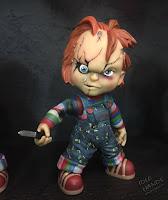 Toy Fair 2017: Mezco's Horror Toys Child's Play Chucky Vinyl Figure