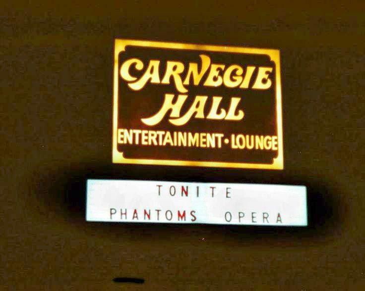 Carnegie Hall rock club in Lawrencville, New Jersey