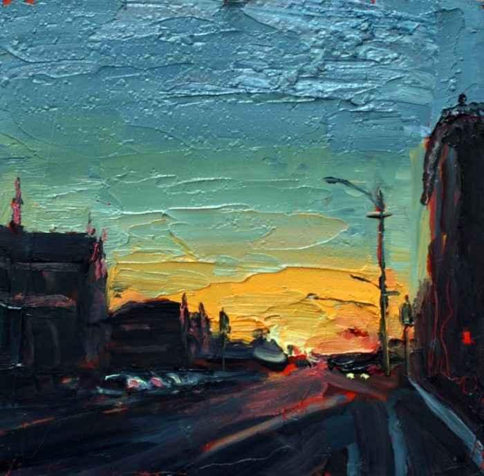 Городские пейзажи. Ashley Frost