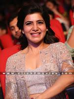 Samantha New Stylish Stills at A Aa Movie Audio Release