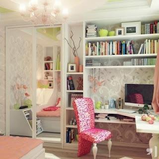zona estudio dormitorio adolescente