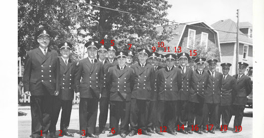 Chapleau fire brigade holds fundraisers for dress uniforms in 1962 along with arrival of new fire truck
