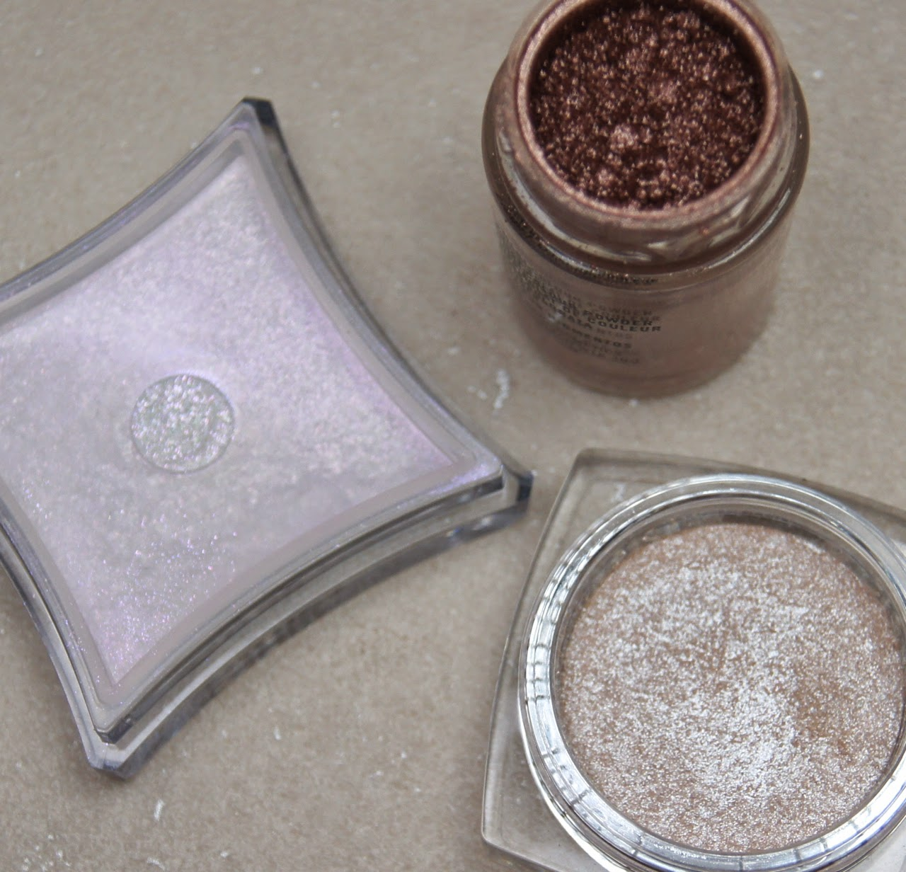 best glitter simmer loose eyeshadow pigments for party season MAC illamasqua l'oreal