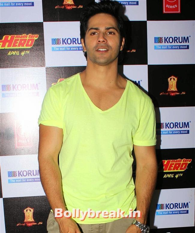 Varun Dhawan, Hot Nargis Fakhri & Ileana Promote Movie Main Tera Hero Movie