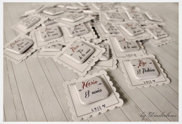 chapas detalle de bodas