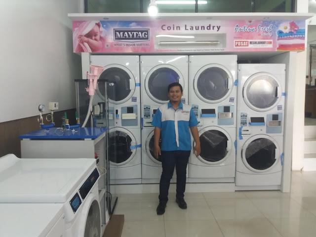 20170404_104247 Sistem Laundry Koin Maytag