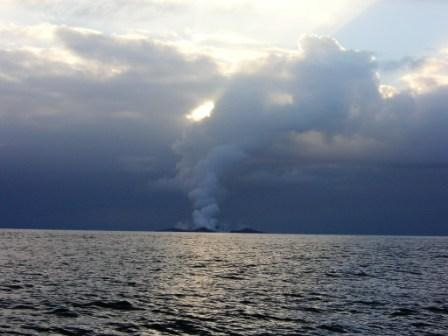 When This Boat Crew Realized What They Were Seeing, It Was Almost Too Late To Escape Alive! - AS THE SMOKE CLEARED, THEY NOTICED SOMETHING STRANGE JUST AT THE WATER'S SURFACE….