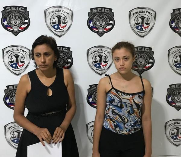 MARANHÃO - Mãe e filha simulam falso sequestro e são presas