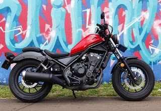 modified Honda Rebel CMX 500 Baru