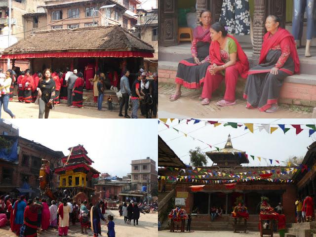 Festa Newari a Bhaktapur e Changu Narayan