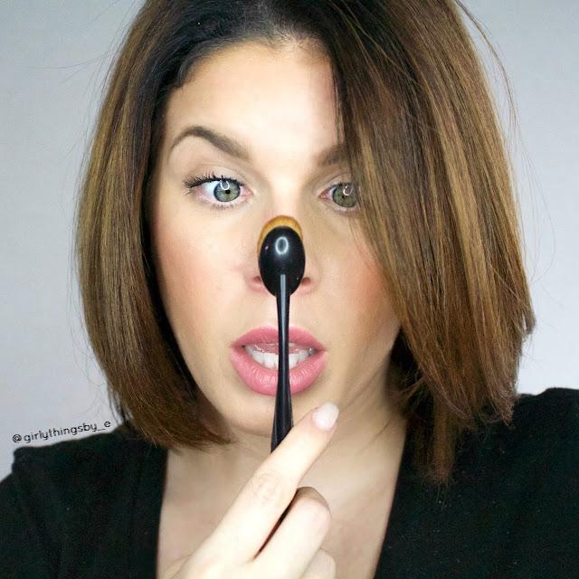 Bdellium Tools 950 Oval Multipurpose brush, @girlythingsby_e