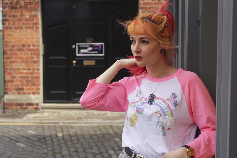 Alternative Style Blogger Foxxtailz in Truffle Shuffle
