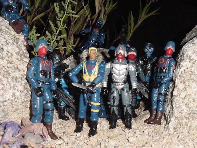 2003 Crimson Guard Immortal, KB Toys Exclusive, Skeres, Cobra Trooper, Officer, 2004 TRU Exclusive