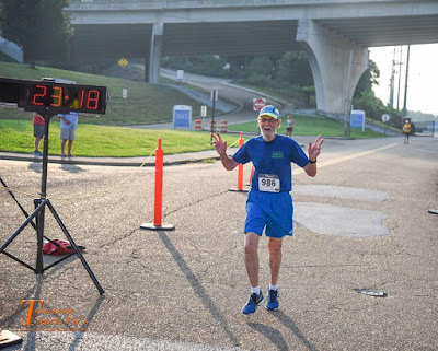 SET TENNESSEE 2-MILE AGE 80 RACE RECORD