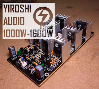 Super Power Amplifier Yiroshi Audio 1000W