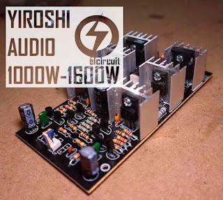 Super Power Amplifier Yiroshi Audio 1000W