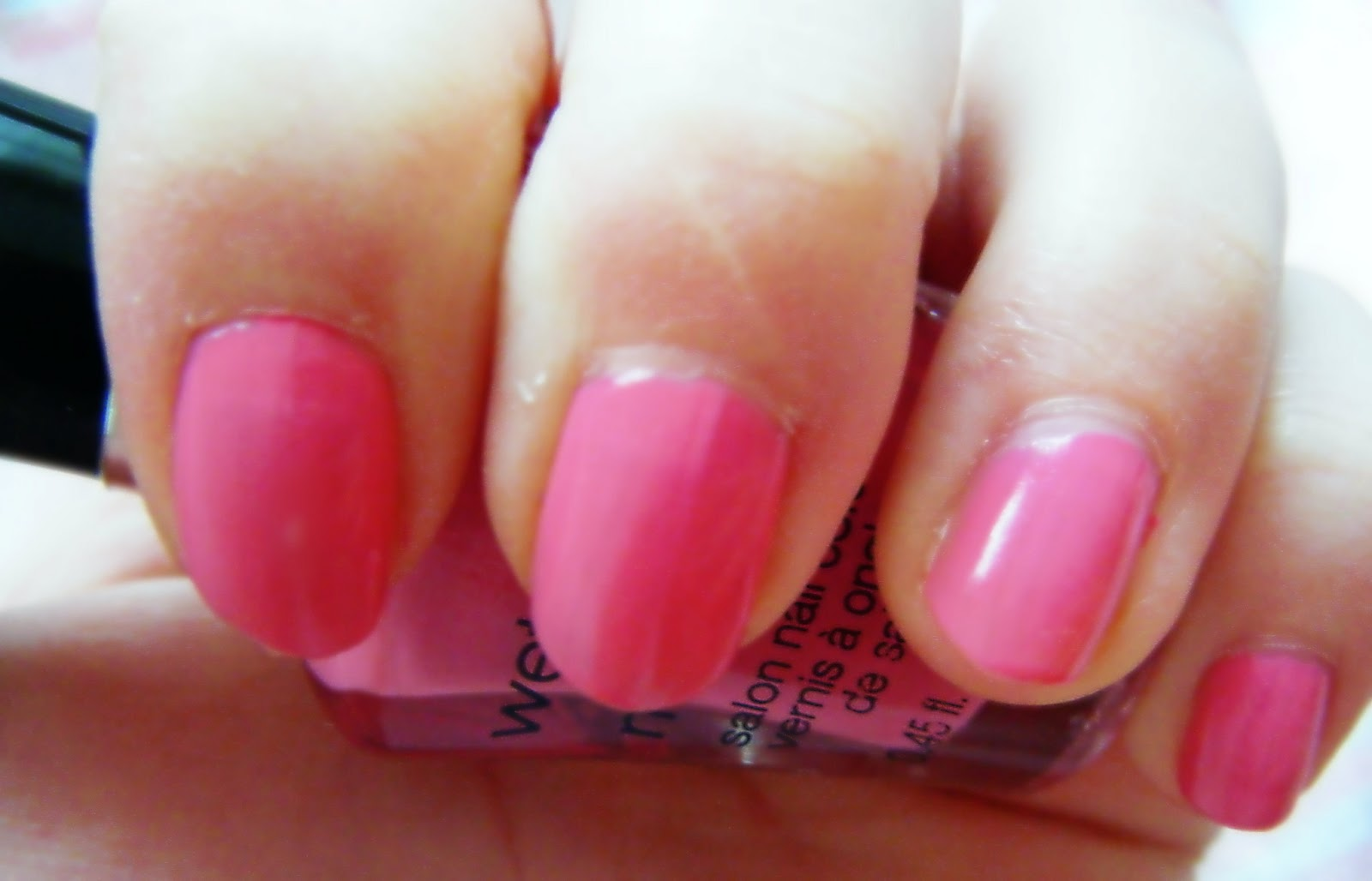 Wet N Wild Candy Licious Nail Polish Dolly Dowsie Megalast Salon Color Candylicious I Shall Definitely Be Buying Polishes In The Future Now Have Nails Yay