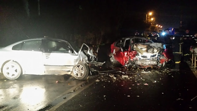 Σοκαριστικό τροχαίο δυστύχημα στην Σπάρτη - Απανθρακώθηκε ο ένας από τους 2 νεκρούς (βίντεο)