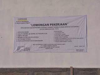 PT. Hansae Indonesia Utama cakung cilincing jakarta
