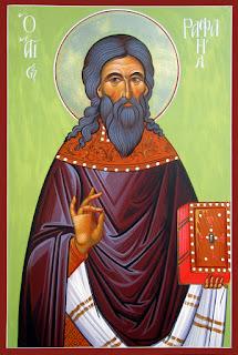 ο Άγιος μεγαλομάρτυς Ραφαήλ