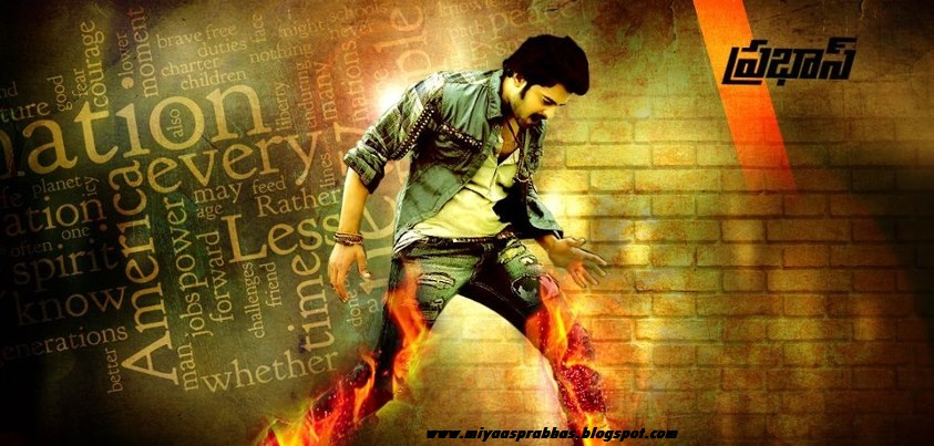 Stylish Prabhas Hq Wallpaper In Rebel: MIYAA's DARLING PRABHAS: PRABHAS STYLISH WALLPAPERS