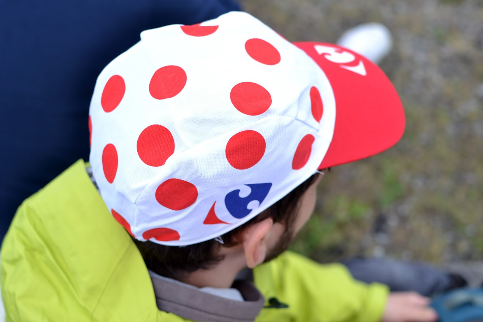 polka dot hat, king of the mountain, caravan, le tour de france, le tour, the tour de france, team sky, peloton, yorkshire, lancashire, tour de yorkshire, blackstone edge, cycling, velo, littleborough, greater manchester, rochdale, cragg vale, north west, TDF, 2014, bikes, photography, sport, athletes, cyclists, uk, great Britain, united kingdom, france, french,