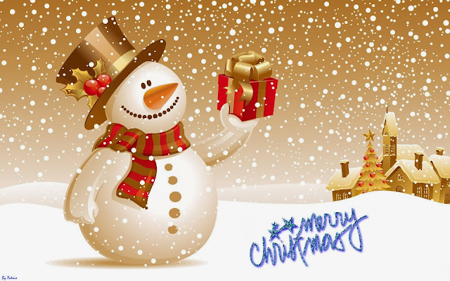 merry christmas wishes funny snowman image