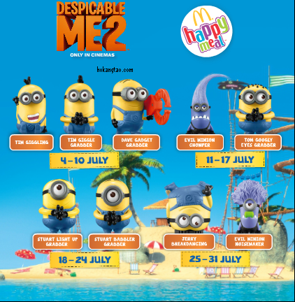 Minions from McDonald