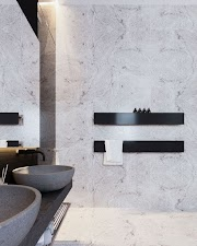 Ever thought about bathroom towel rail in Black?