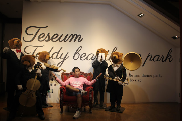 Meet the Cutie Bears at the Teseum Museum in Seoul