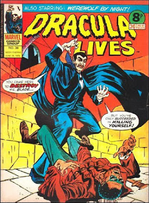 Marvel UK, Dracula Lives #36