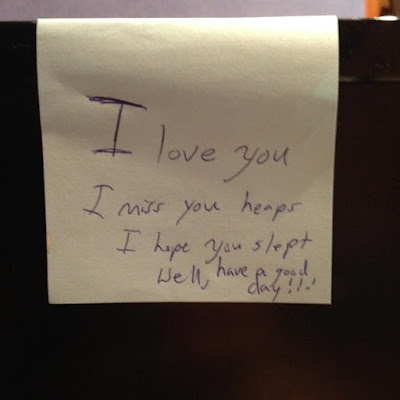 Cute Notes from my Husband