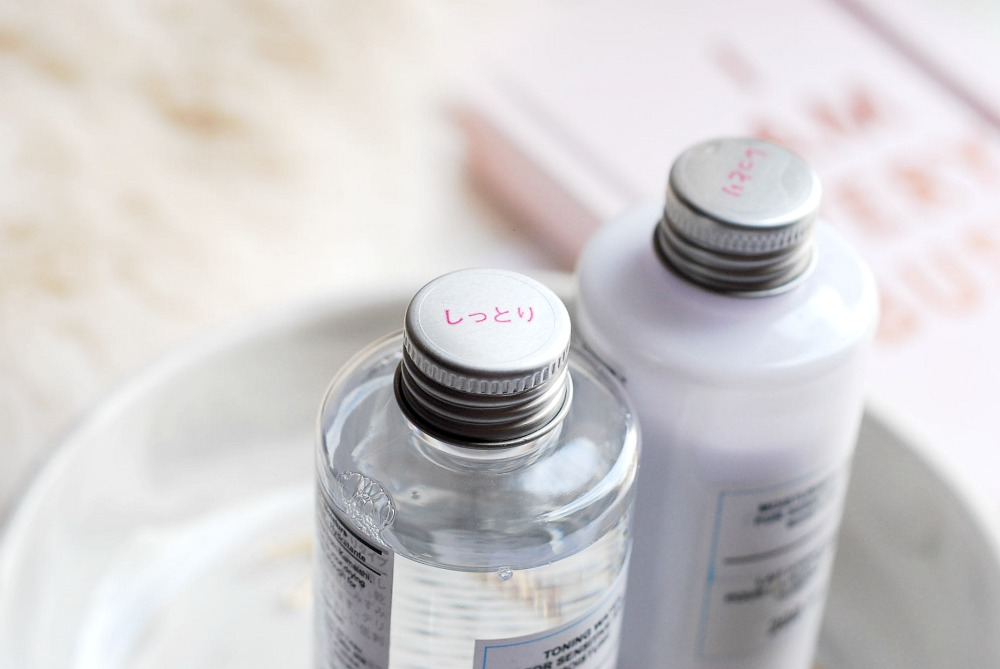 MUJI toner review sensitive skin