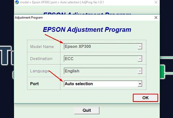 How to Reset Epson Expression XP-431