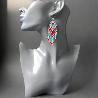 купить этнические украшения из бисера украина россия анабель