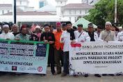 Bang Japar Kemayoran Bersama MKB Tolak Keras Acara DWP