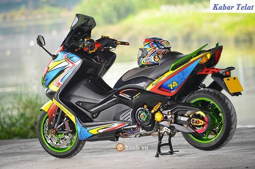modifikasi motor yamaha nmax foto gambar66  terbaru