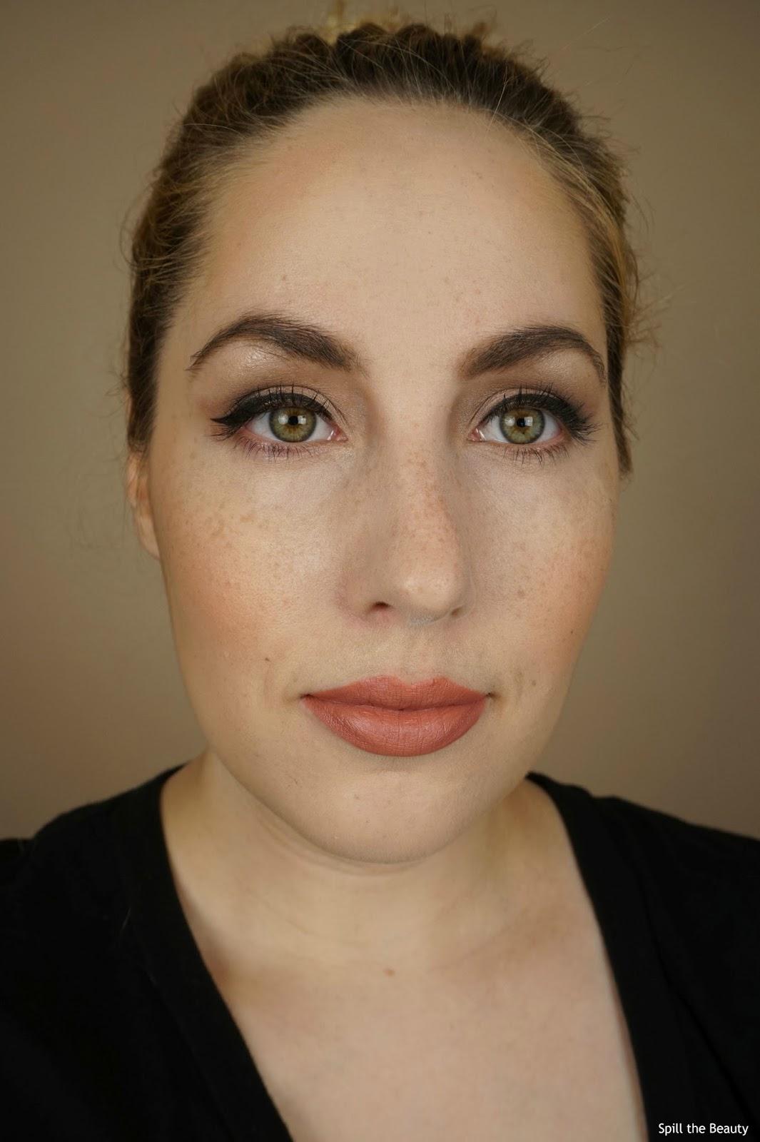 joe fresh eyeshadow palette neutrals review look